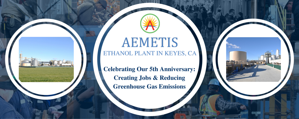 Celebrating Our 5th Anniversary: Creating Jobs & Reducing Greenhouse Gas Emissions