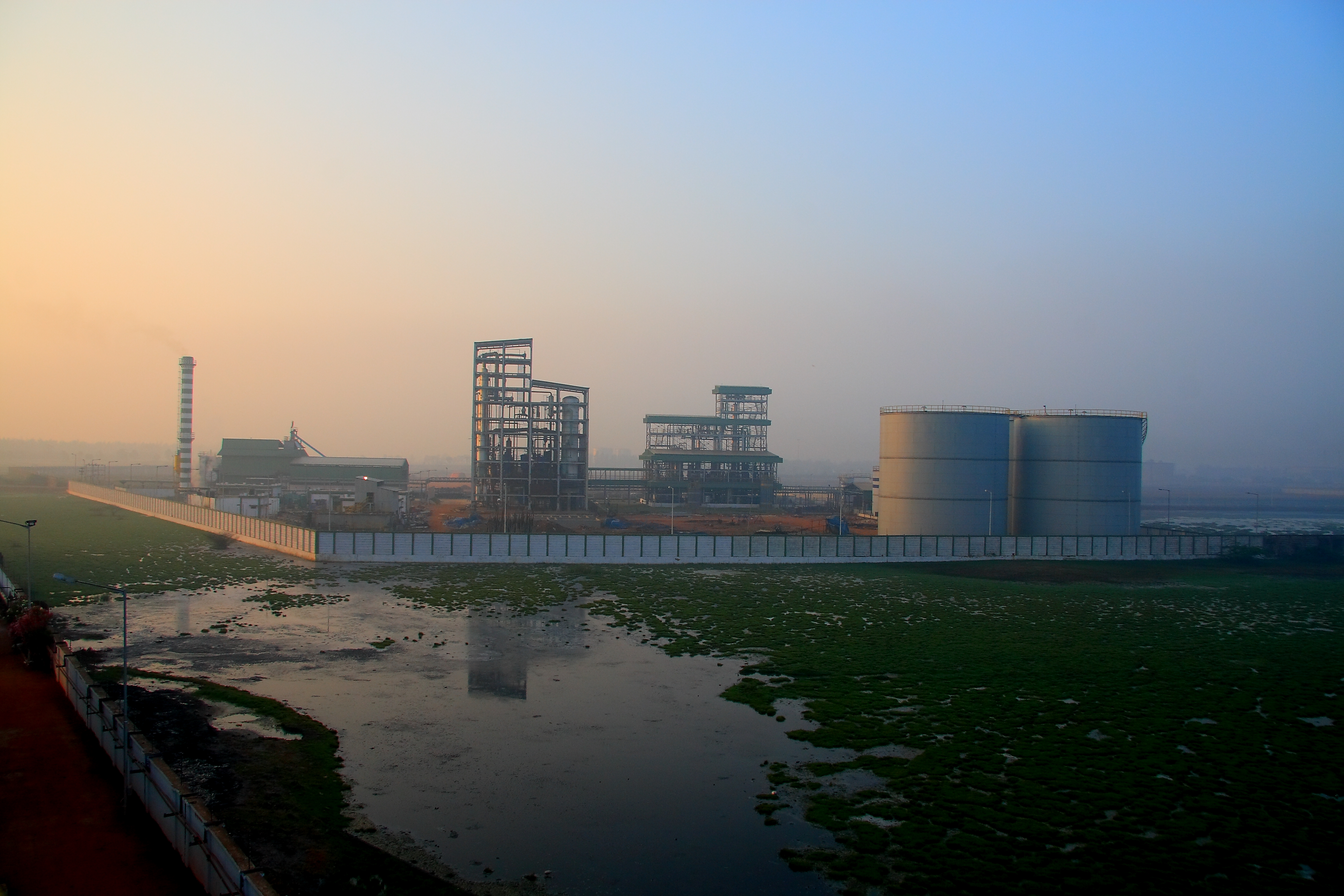 Integrated fuels and chemical production facility in Kakinada, India